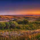 Постер, плакат: Twilight on Albertan Prairies