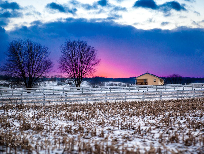 Photograph The Last Winter Sunset by Benjamin Lehman on 500px