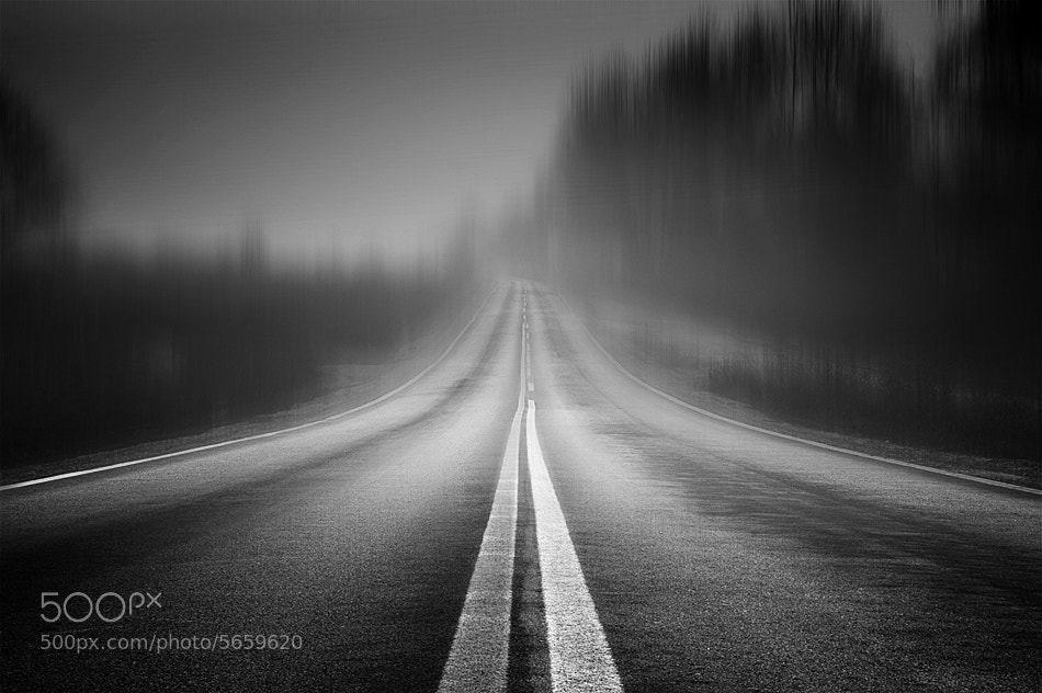 Photograph Road to Nowhere by Petros   Petropoulos on 500px