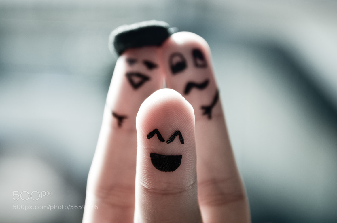 Photograph Happy Fingers by Riccardo  Casarico on 500px