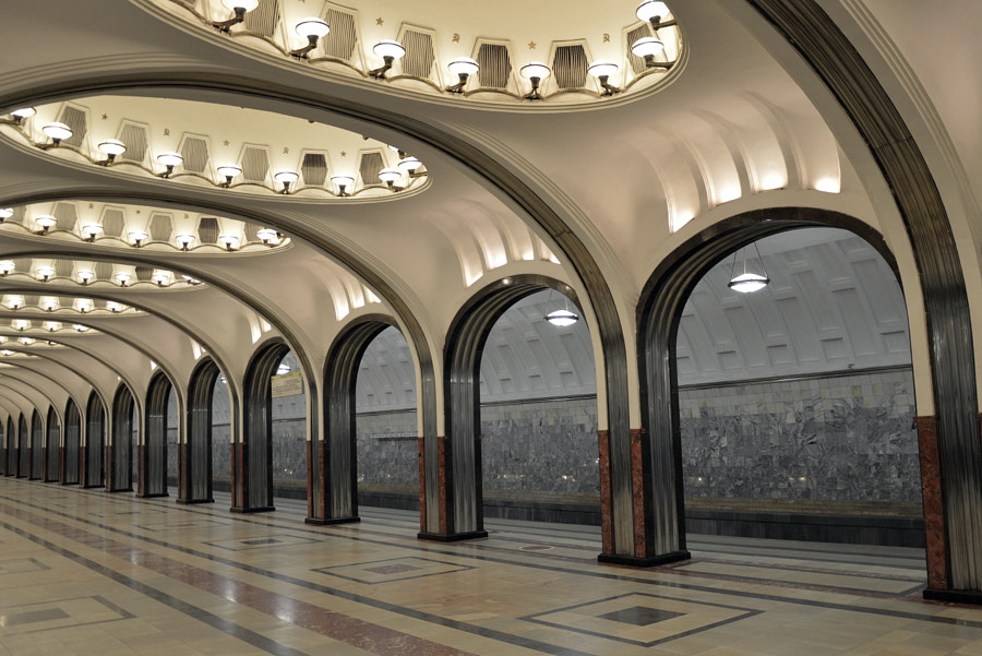 Art Deco at Mayakovskaya by LoveTravelFly on 500px.com
