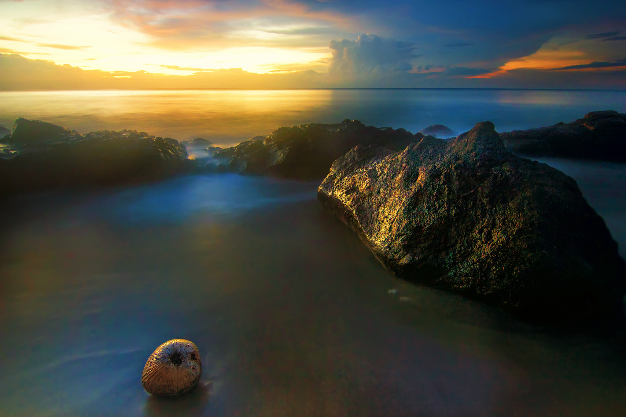 Photograph Coconut in Sunset by Eep Ependi on 500px