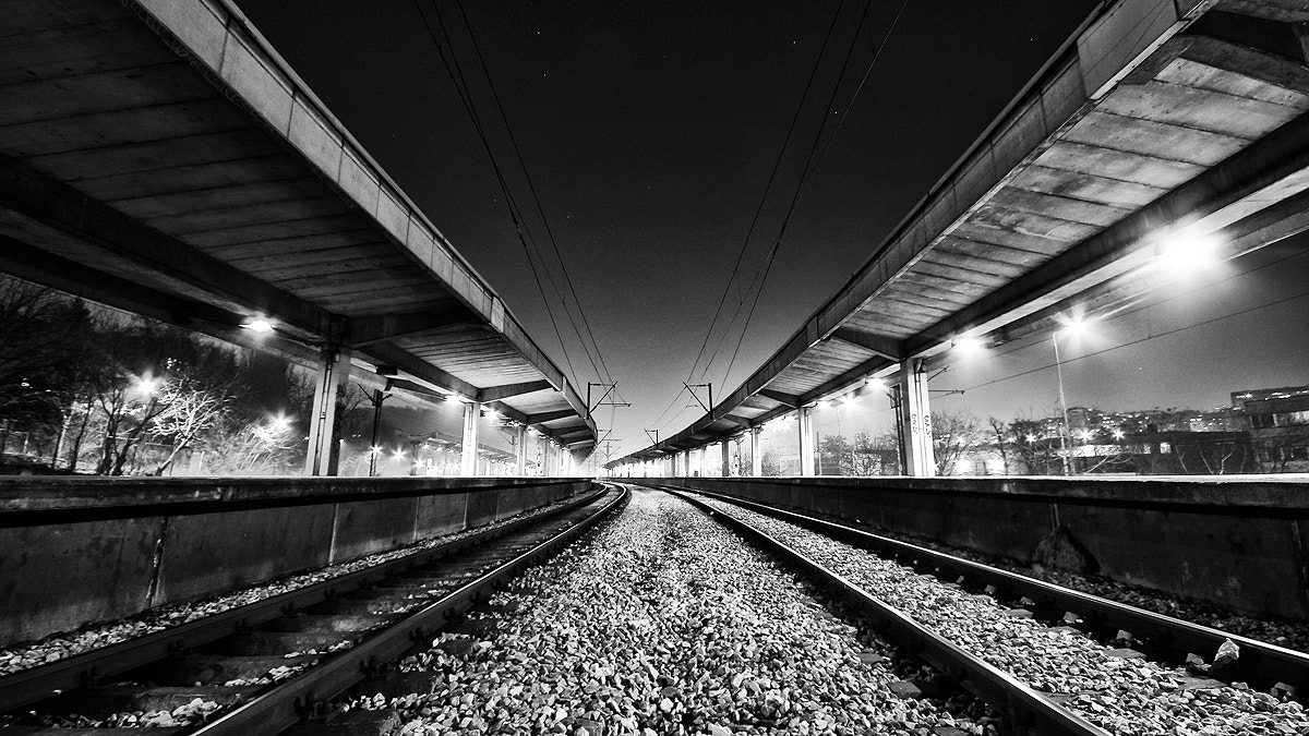 Photograph Derailed by Dusan Milak on 500px