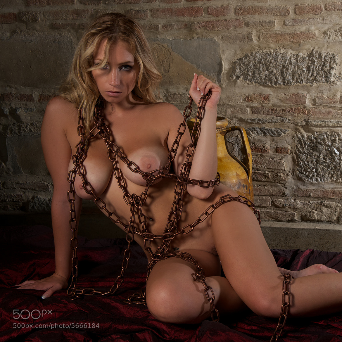 Photograph Erika chained by giorgio vitali on 500px