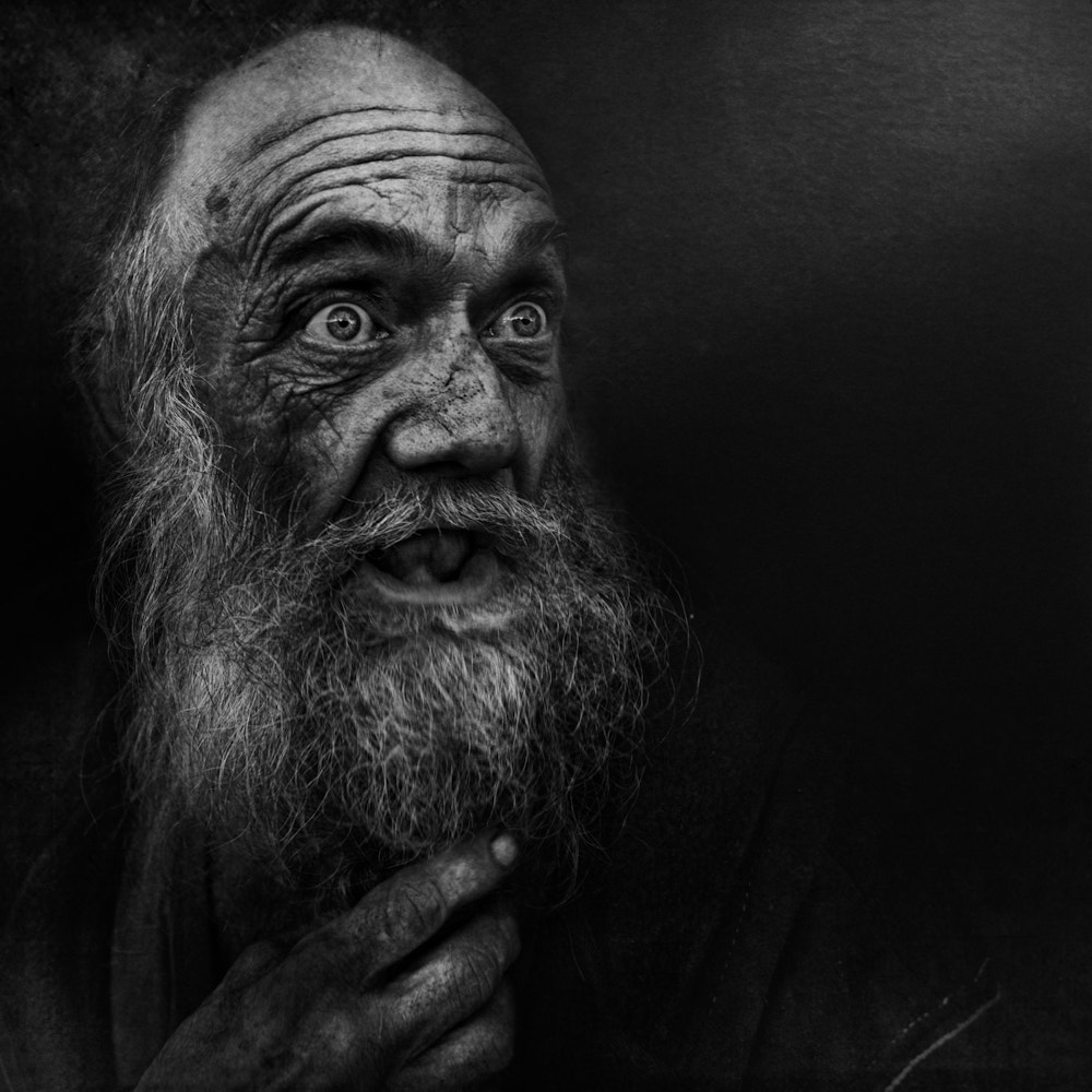 Photograph S. by Lee Jeffries on 500px