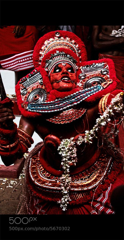 Photograph Theyyam series by Nidhin Raj on 500px