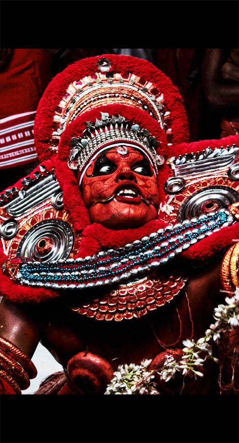 Photograph Theyyam series by Nidhin Raj on 500px