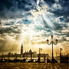 Venice after the rain by Claude Lee Sadik (Claudesadik)) on 500px.com