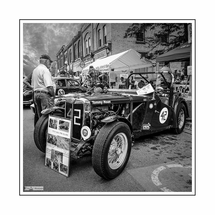 1949 MGTC Watkins Glen Veteran-bw