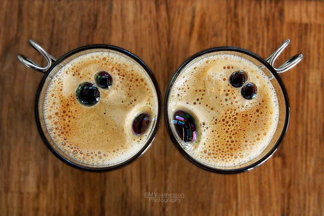 Photograph Coffee kiss by Marjolaine Vuarnesson on 500px