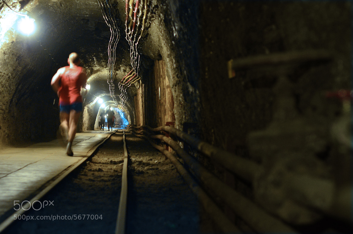 Photograph Underground running #3. by Slawek Potasz on 500px