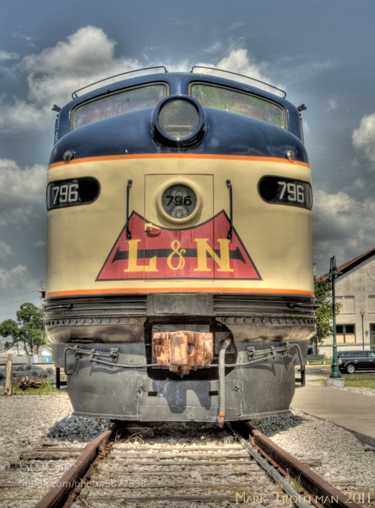 Photograph L&N Locomotive by Mark T on 500px