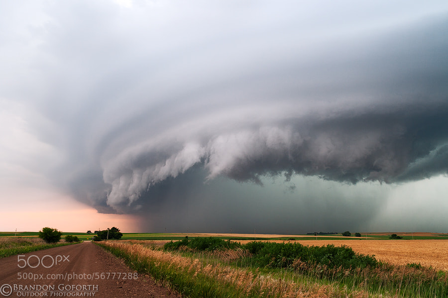 Photograph Kansas Storm Structure by Brandon Goforth on 500px