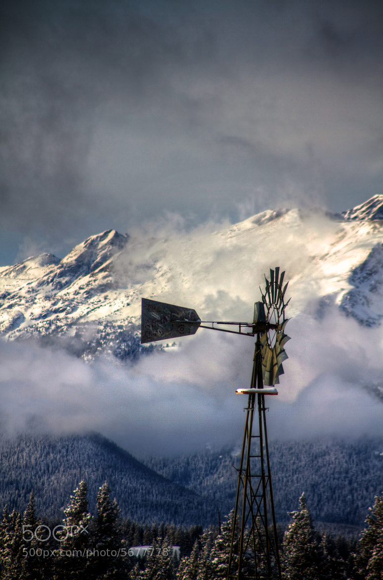Photograph Windmill by Zach Dischner on 500px