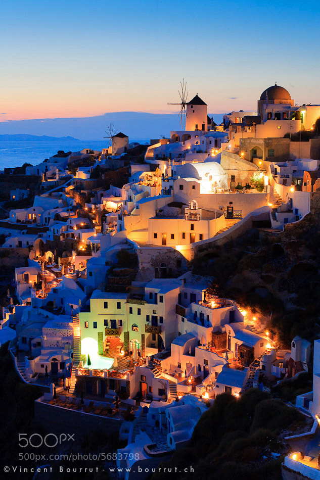 Photograph Santorini dreams III by Vincent BOURRUT on 500px