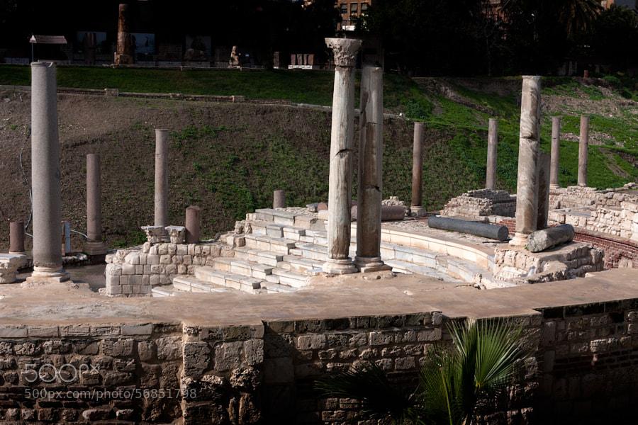 The antique ruins
