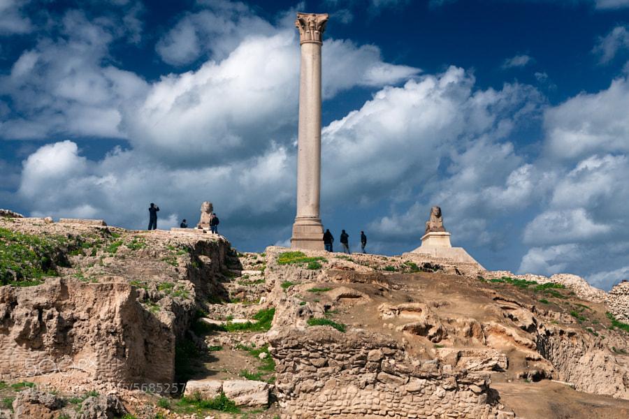 Alexandria antique ruins