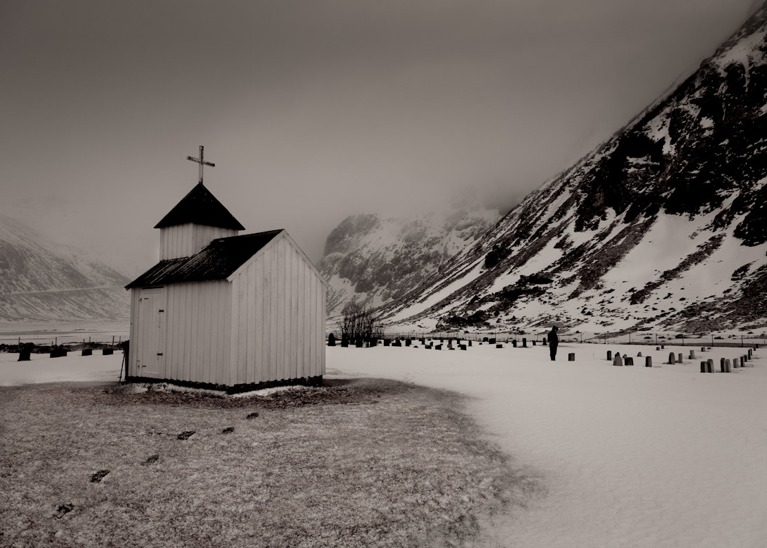 Photograph The lonely church by audun nygaard on 500px