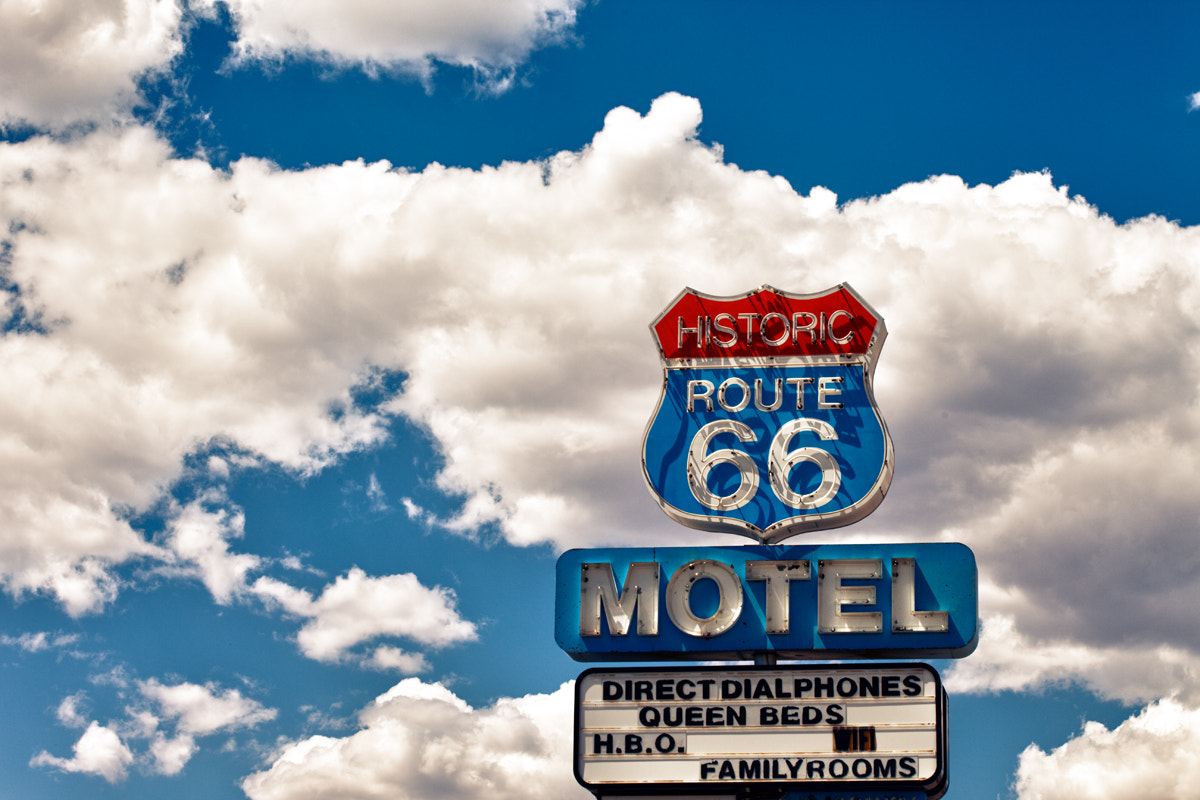 Photograph Route 66 Motel by Kiko Yera on 500px