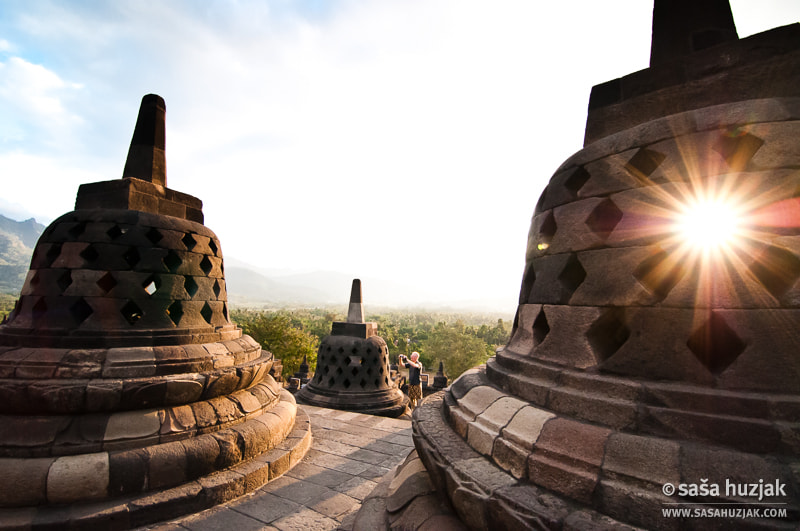 Photograph Tourist at Borobudur by Saša Huzjak on 500px
