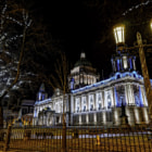 Постер, плакат: Belfast City Hall at Night