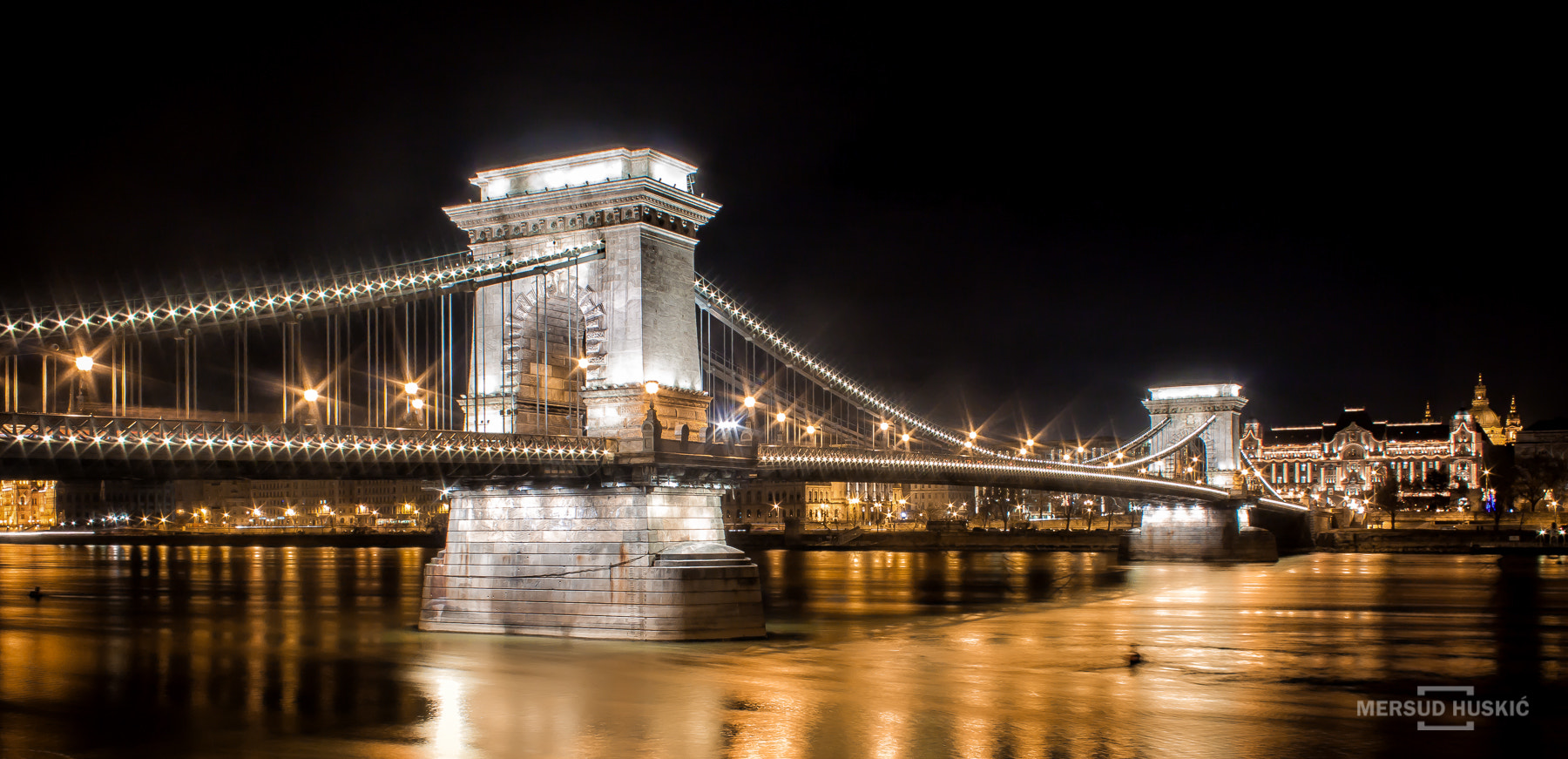 Photograph Budapest - Széchenyi Chain Bridge by Mersud Huskic on 500px