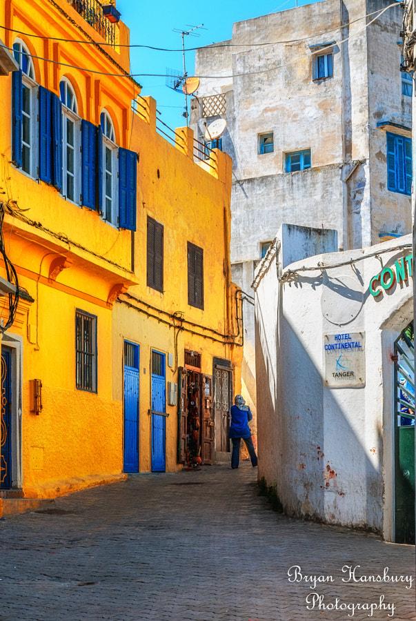 Tangier back street