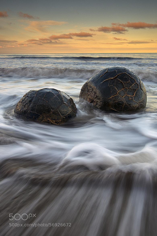 Photograph Unity - Moeraki Boulders by Rob Lafreniere on 500px