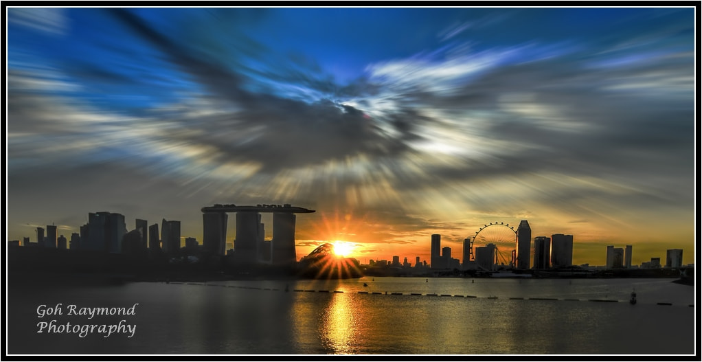 Photograph Sunset@Marina Barrage by GohRaymond Photography on 500px