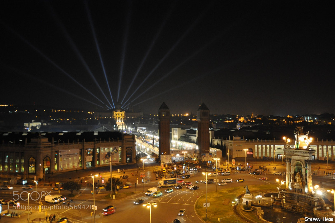 Photograph Montjuïc by night by Stefan Hage on 500px
