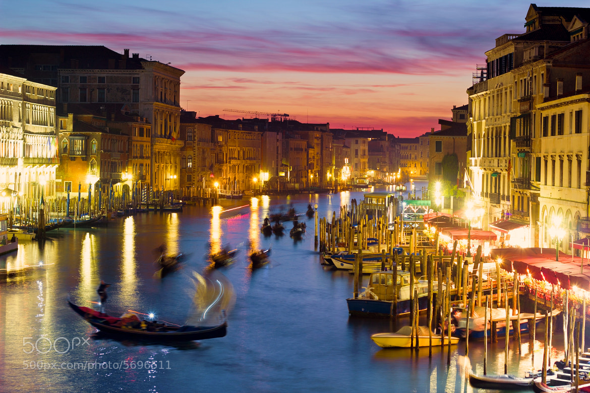 Photograph Grand Canal at Sunset, Venice by Francesco Riccardo Iacomino on 500px