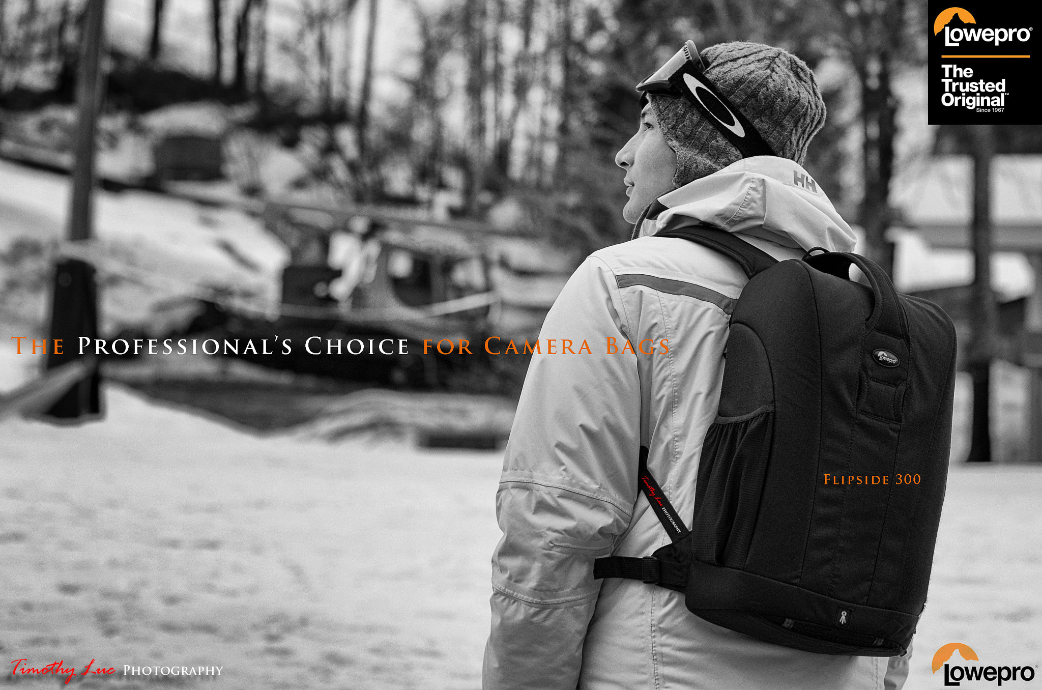 Photograph Lowepro Ad by Timothy Luc on 500px
