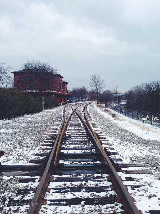 Photograph On Track by Kayla Ivey on 500px