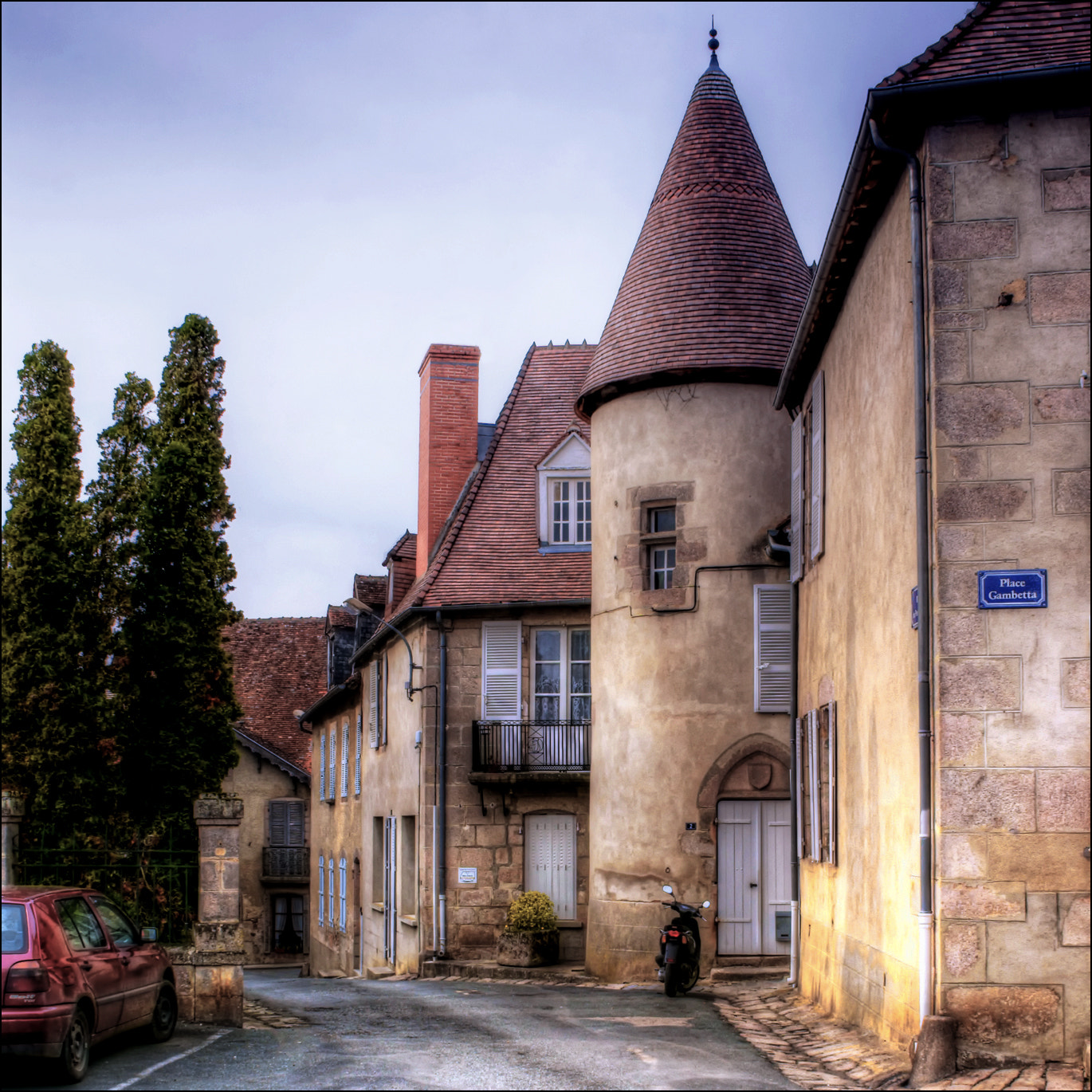 Photograph Place Gambetta by RobN 185 on 500px
