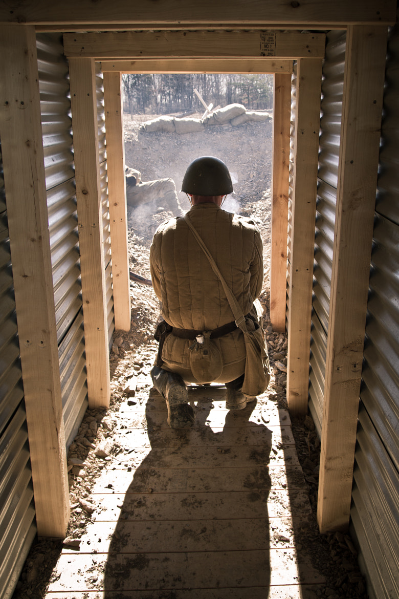 Photograph Mortar in the Trenches by Kelsey Freeman on 500px