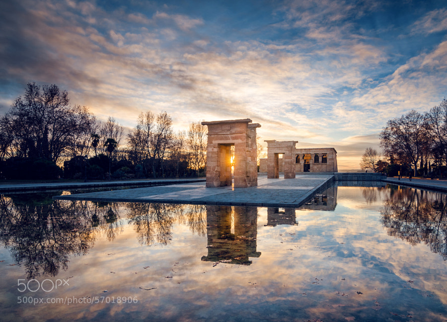 Photograph Sunset in the egipcian temple by Daniel Viñé Garcia on 500px