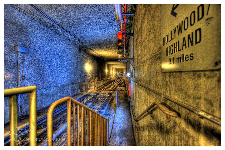 Photograph Hollywood / Highland - LA Subway by Logan Hicks on 500px