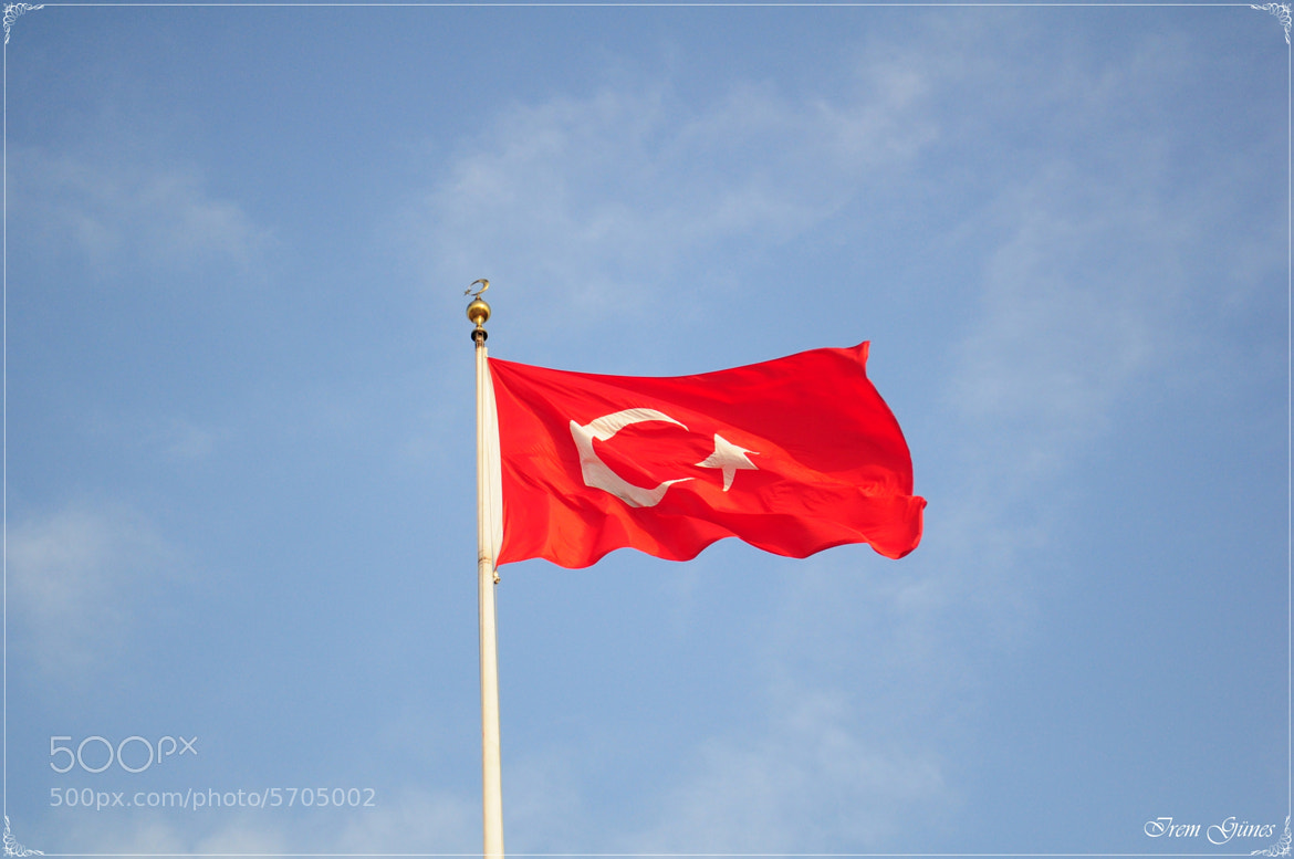 Photograph Turkısh flag by İrem Güneş on 500px