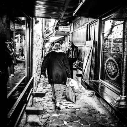Sarajevo alley
