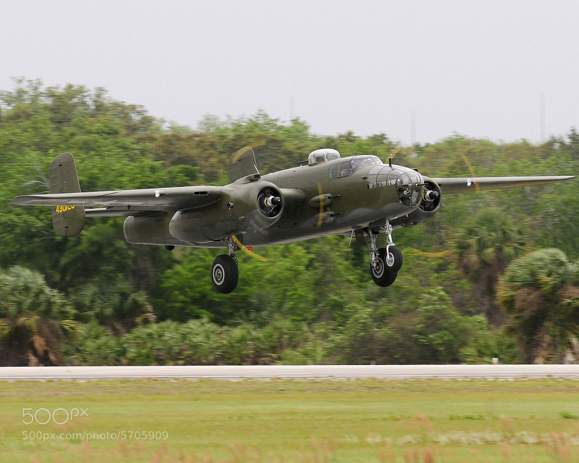 Photograph B-25 Mitchell Departs TICO by Glen Wattman on 500px