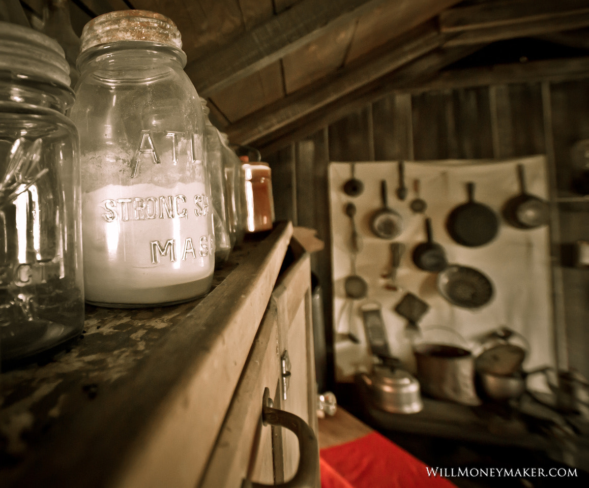 Photograph Antique Mason Jar in an Old Cabin by Will Moneymaker on 500px