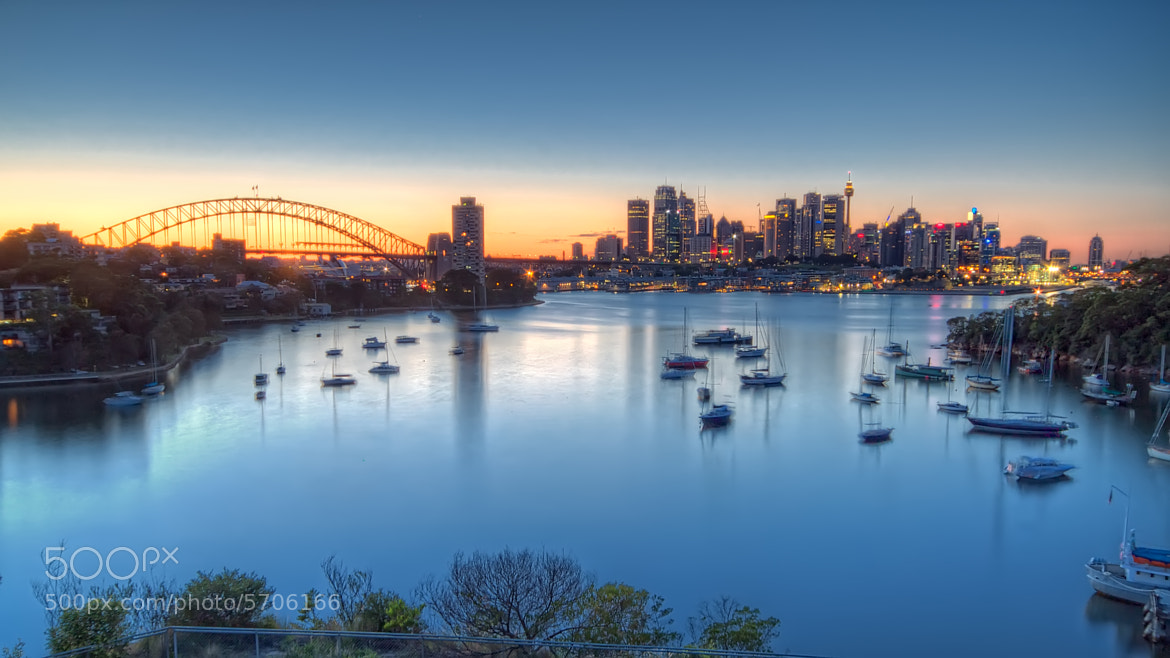 Photograph Sydney Harbour Wakes Up by Richard Cubitt on 500px