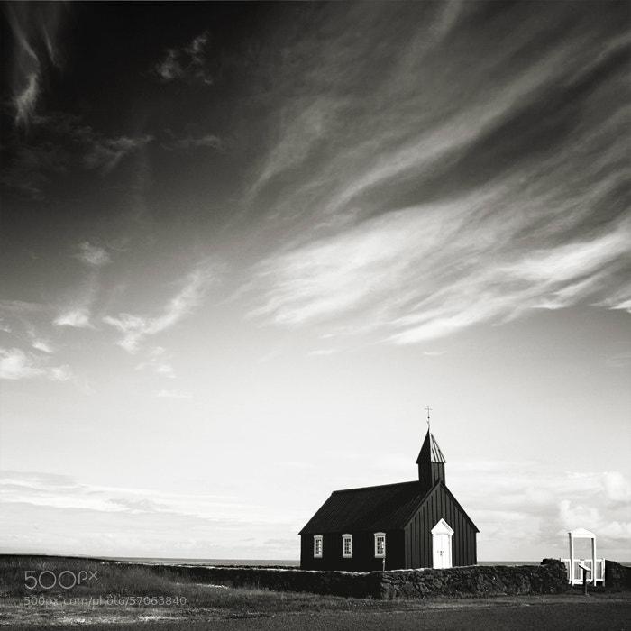 Photograph Black Church by Nina Papiorek on 500px