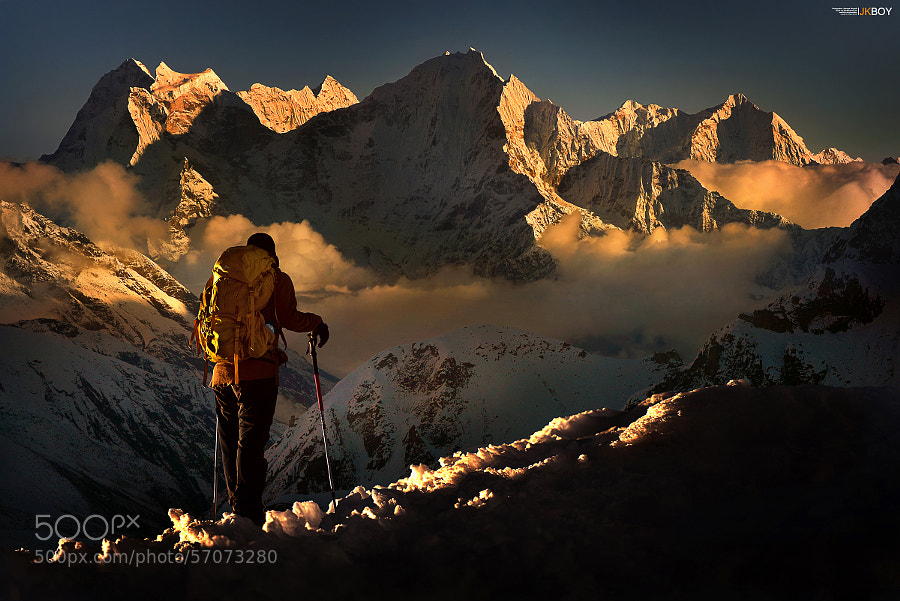 Photograph Mantra Himalaya by Jkboy Jatenipat on 500px