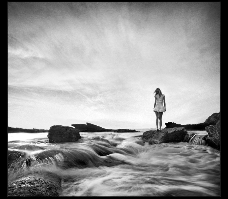 Photograph Sea and girl... by Eddi Ger on 500px