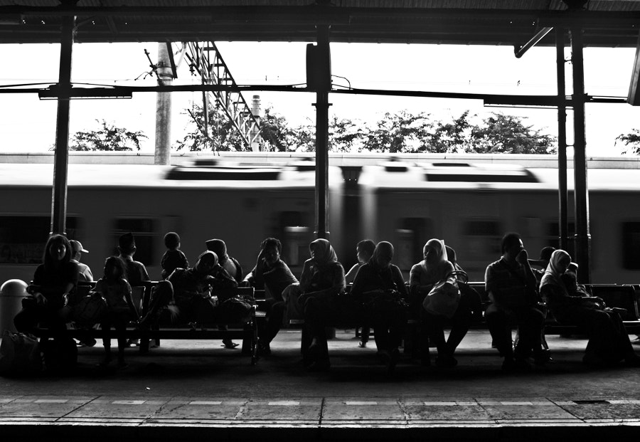 Photograph Next Train by Hengki Lee on 500px