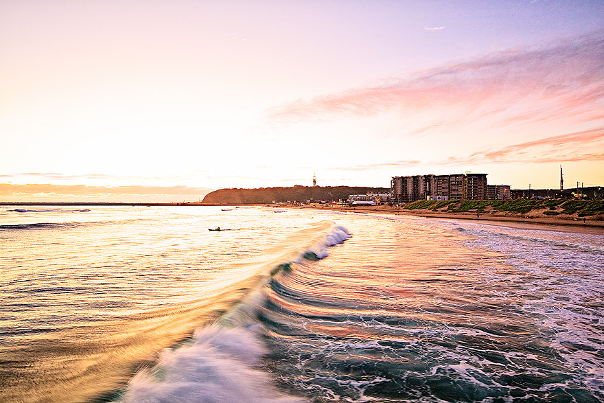 Photograph Vetch's Beach, Durban, South Africa by Dennis Guichard on 500px