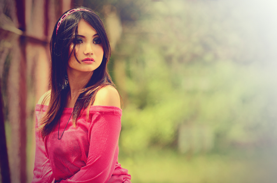 Photograph When I saw her by Gusti Gifarinnur on 500px