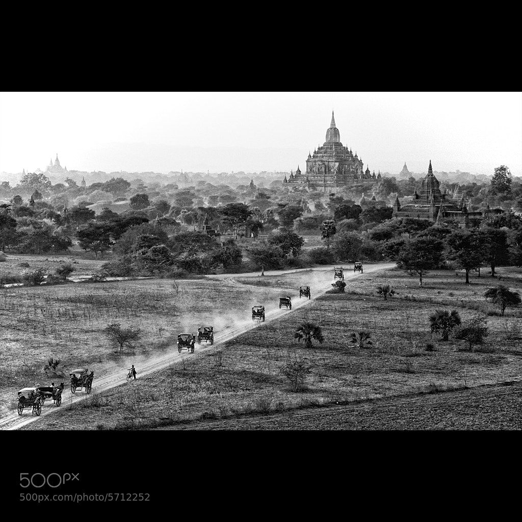 Photograph Road to Bagan by Malcolm Fackender on 500px