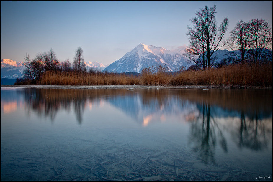 Photograph Reflection at Lake Thun by Jan Geerk on 500px